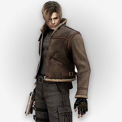 Resident Evil 4 Video Game Leon S Kennedy Costume