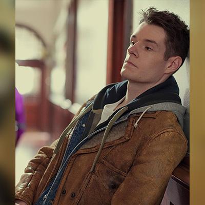 Adam Groff Brown Leather Jacket for Men