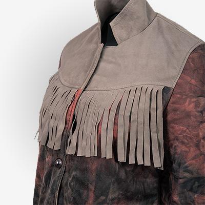 Maeve Wiley inspired Fringe Jacket