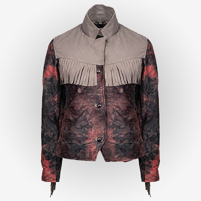 Emma Mackey Fringe Style Jacket for Women