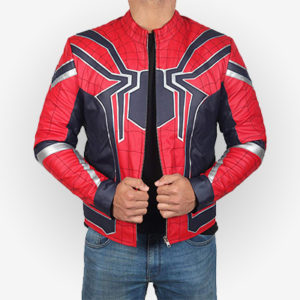 Spiderman costume Jacket from Infinity War