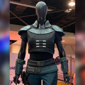 Star Wars The Mandalorian Series Gina Carano Jacket Costume