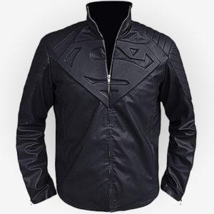 Superman Cosplay Superhero inspired Jacket in Black