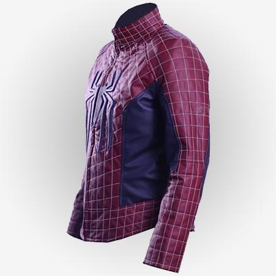 Leather Costume Jacket Peter Parker for Men