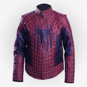 Mens Cosplay Peter Parker Jacket from The Amazing Spiderman
