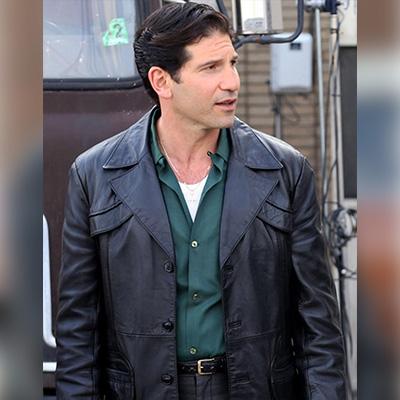 Black Blazer Jon Bernthal Coat for Men