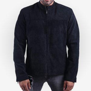 Tom Cruise MI 6 Suede Leather Jacket