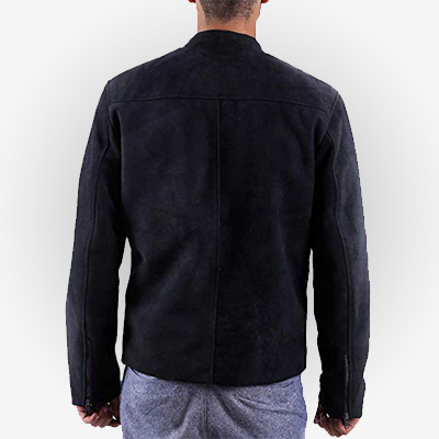 Suede Leather Tom Cruise Jacket from MI Fallout