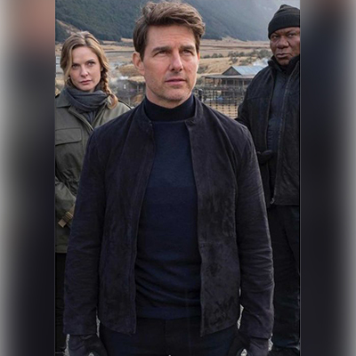 Tom Cruise Mission Impossible 6 Suede Jacket