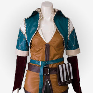 Womens Triss Merigold from Witcher 3 Video Game Jacket