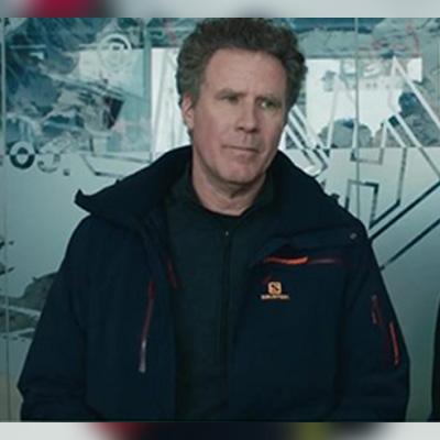 Will Ferrell Downhill Jacket for Mens