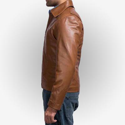 Wolverine Style Leather Jacket
