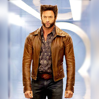 Wolverine X Men Real Leather Jacket