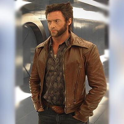 Mens Wolverine Brown Jacket