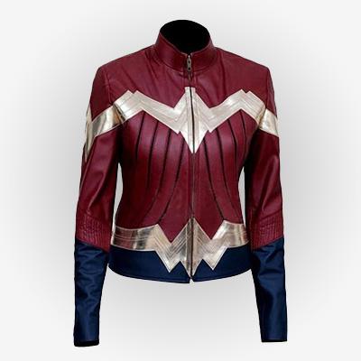 DC Comic Wonder Woman Cosplay Jacket