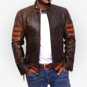 X-Men Origins Distressed Brown Jacket