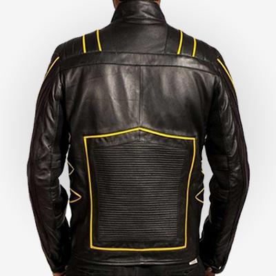 Wolverine X-Men 3 Biker Leather Jacket