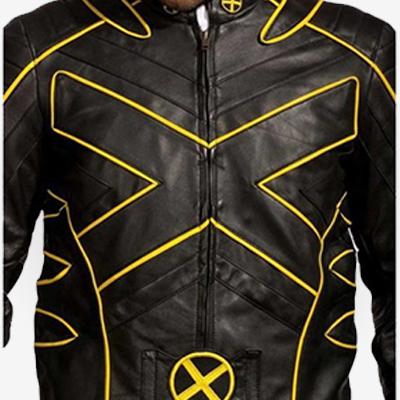 X Men Wolverine Motorcycle Jacket