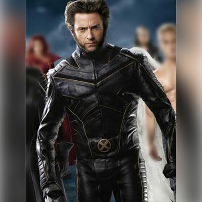 X Men Last Stand Black Moto Jacket