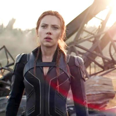 Scarlett Johansson Outfit Jacket in Black Widow 2020