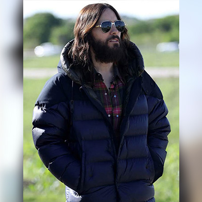 Morbius Movie Blue Puffer Jacket