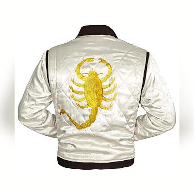Ryan Gosling Golden Scorpion Patch Jacket