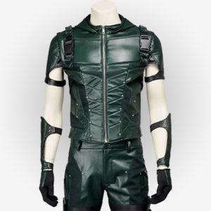 Stephen Amell Vest in Arrow Season 4