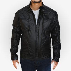 Malcolm Merlyn Cosplay Black Costume Jacket