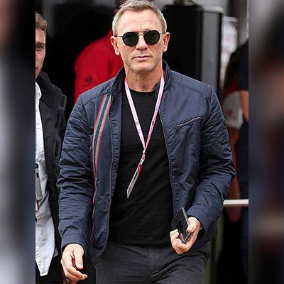 007 James Bond Blue Jacket for Men