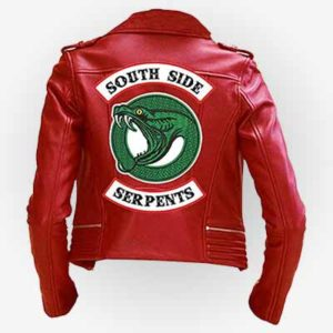 Southside Serpents Red Jacket for Women