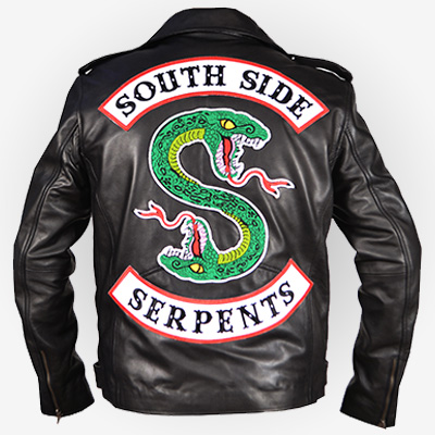 Riverdale Southside Serpents Black Jacket Cheap