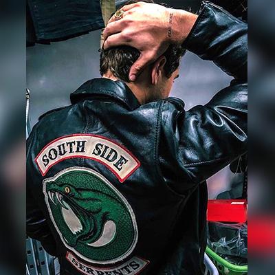 Jughead Jones Southside Serpents Jacket in Genuine Leather