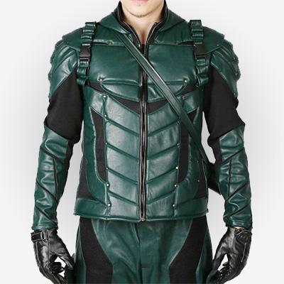 Green Arrow Season 5 Jacket for Men