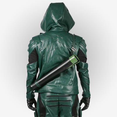 Oliver Queen Arrow Series Jacket from Season 5