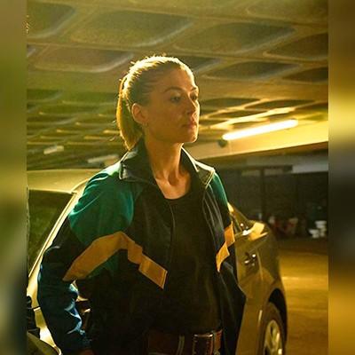 The Informer Movie Rosamund Pike Jacket