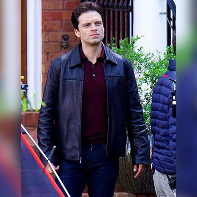 Sebastian Stan Black Jacket