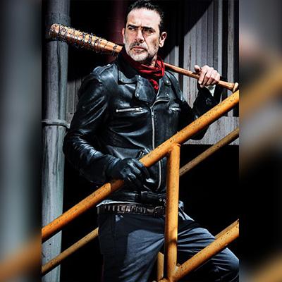 The Walking Dead Series Negan Genuine Leather Jacket