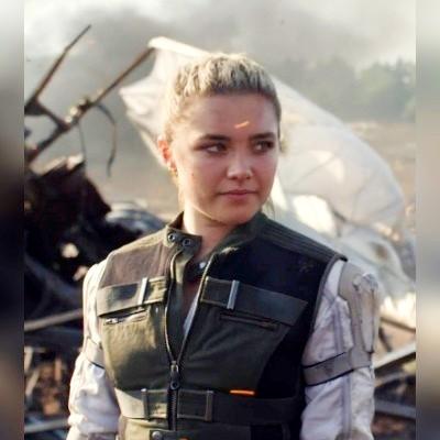 Florence Pugh Black Widow 2020 Vest