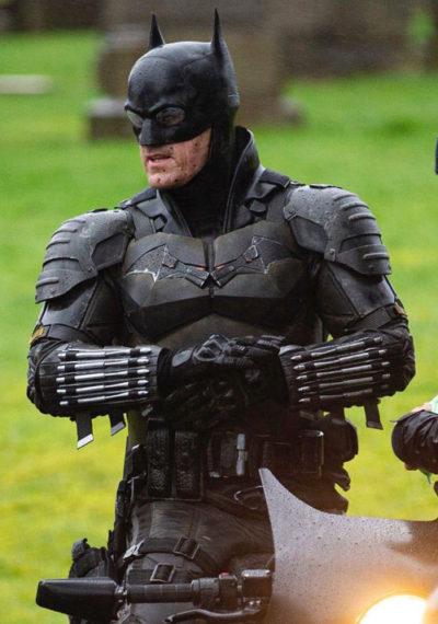 Bruce Wayne The Batman Robert Pattinson Black Leather Jacket