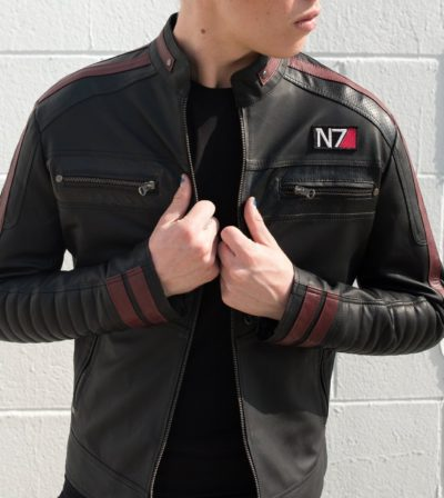 Mass N7 Leather Jacket For Mens