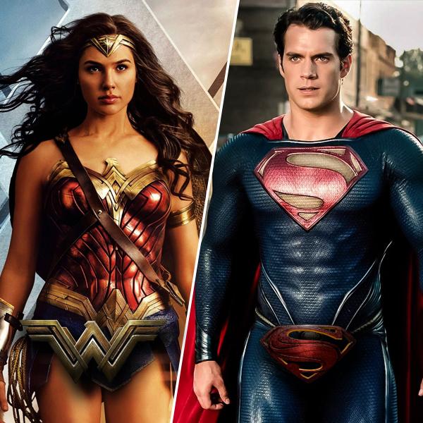 Woman superman wonder and Diana (Wonder