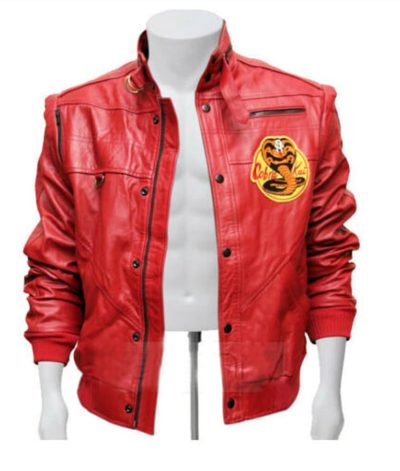 Kai Red Leather Jacket