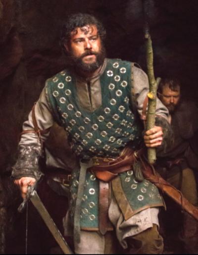 arthur & merlin knights of camelot richard brake leather jacket