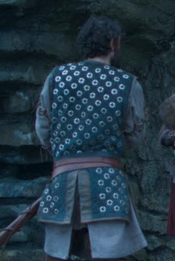 arthur & merlin knights of camelot richard brake sleeveless jacket