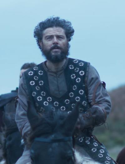 arthur & merlin knights of camelot richard brake sleeveless leather jacket