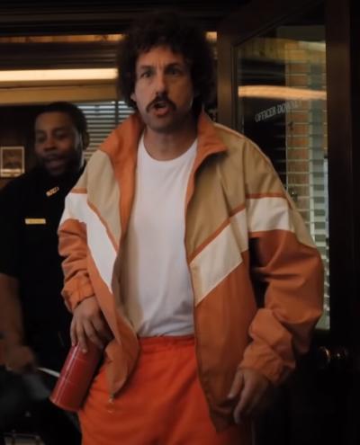 hubie dubois hubie halloween adam sandler bomber jacket