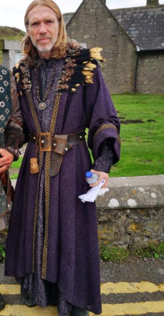 merlin arthur & merlin knights of camelot richard brake long coat