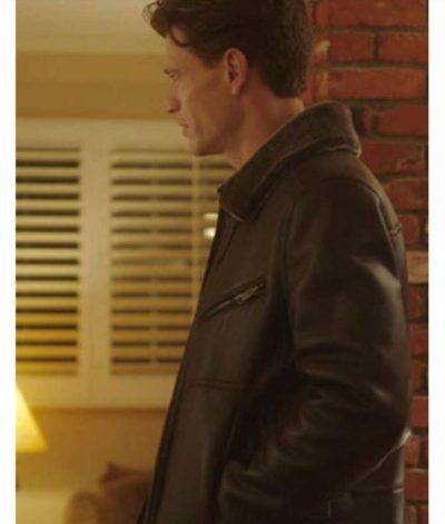 Sawyer Larsen Brown Leather Jacket