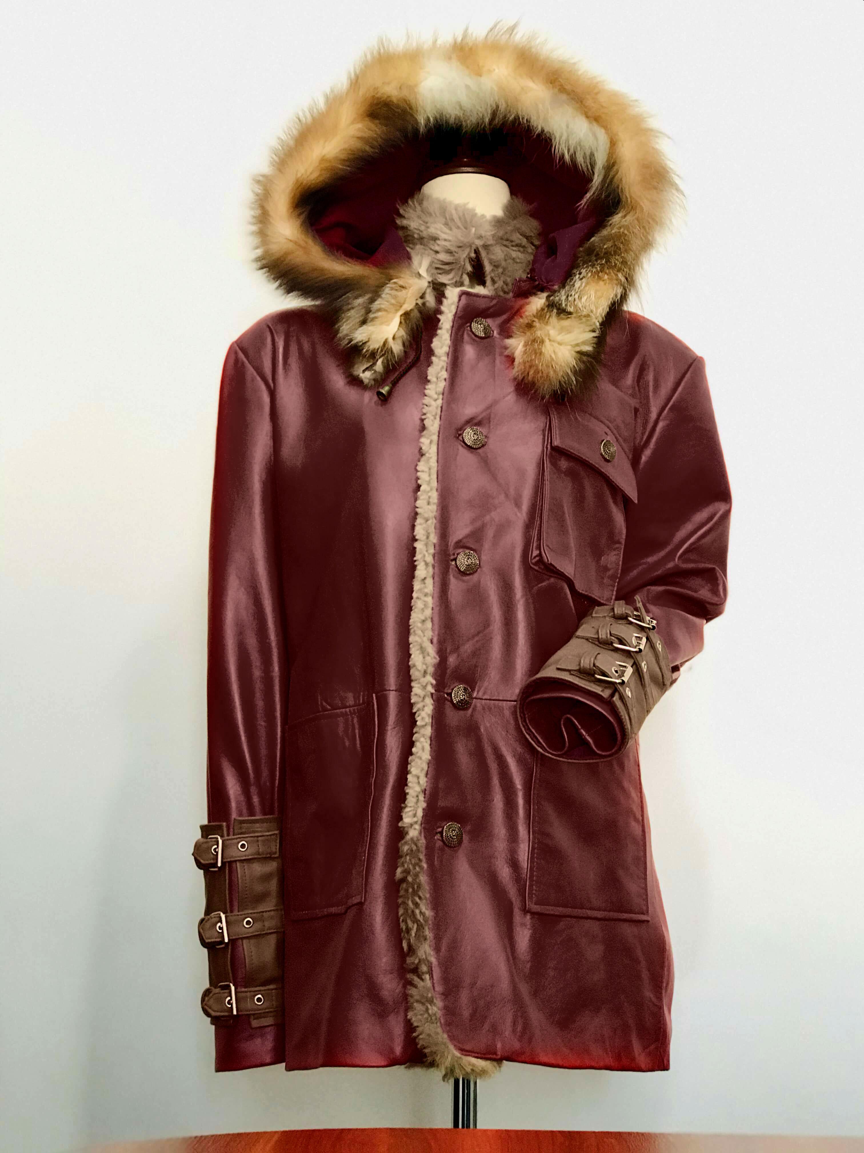 fatman parka jacket front side