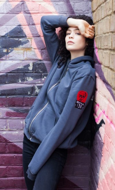 Infamous second son female hoodie